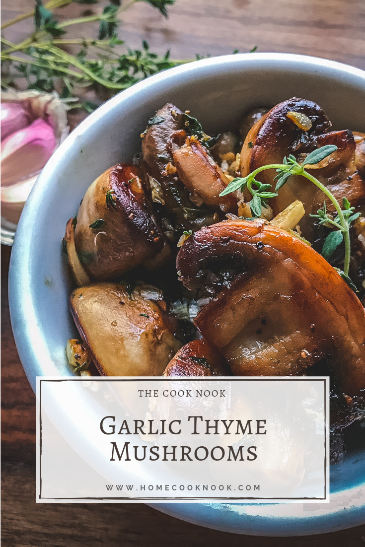 Garlic Thyme Mushrooms