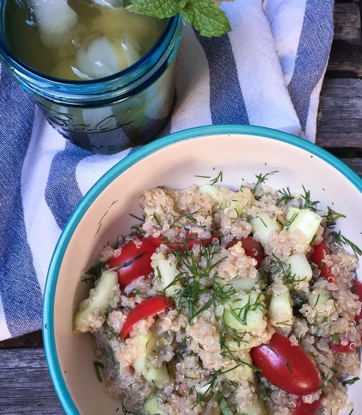 Fresh Dill Quinoa Salad