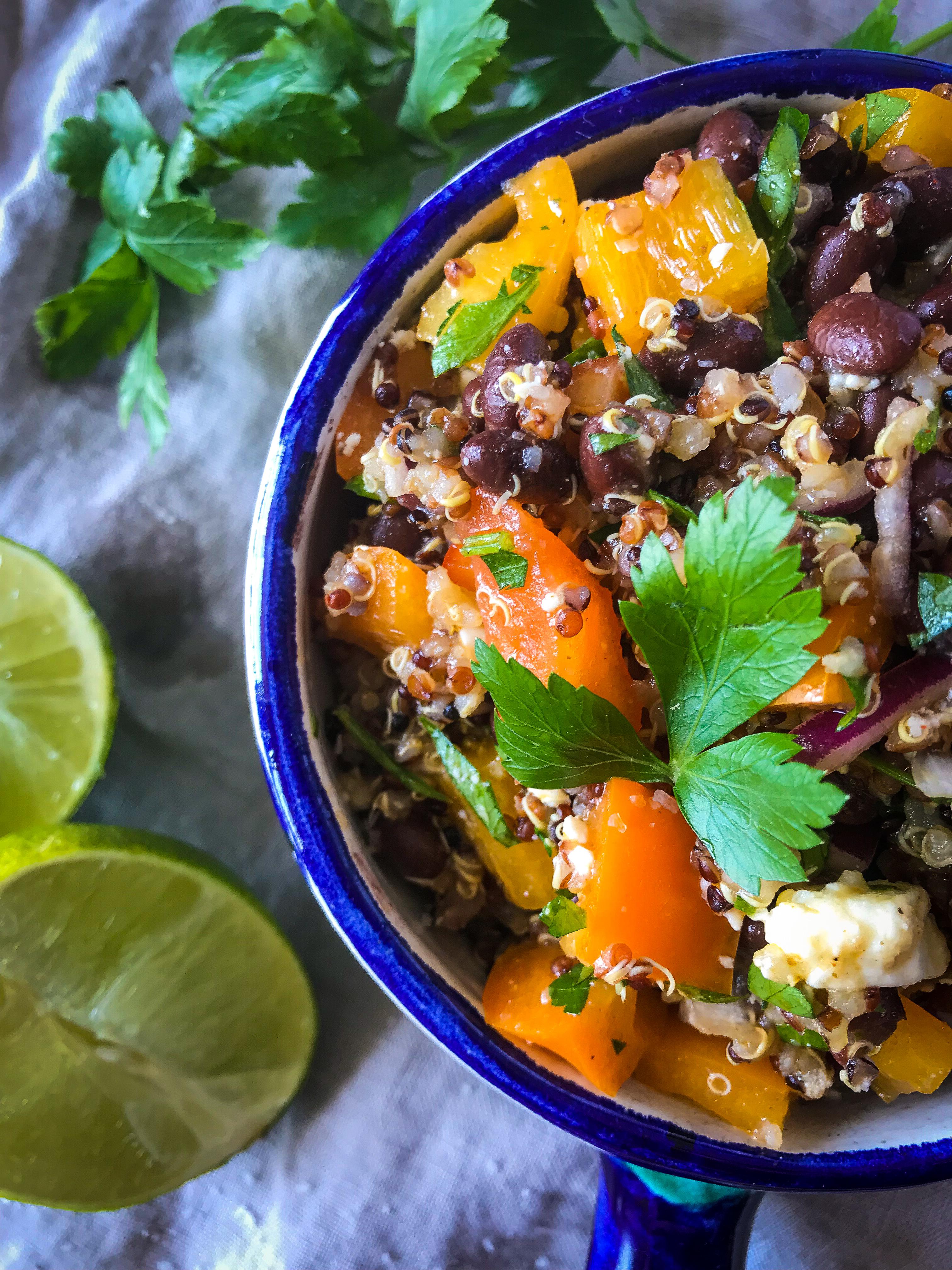 Baja Quinoa Salad