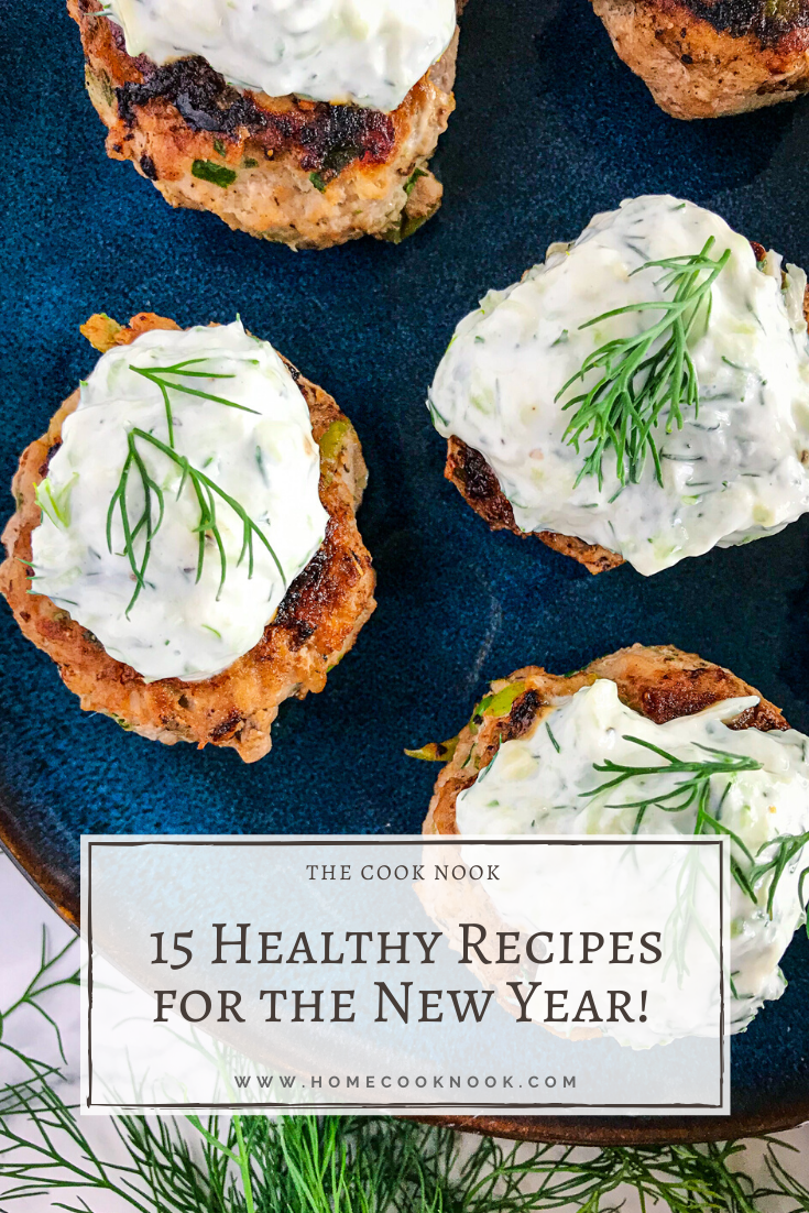 15 Healthy Recipes for the New Year!
