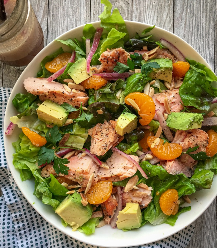 Salmon Salad with Tarragon Dressing